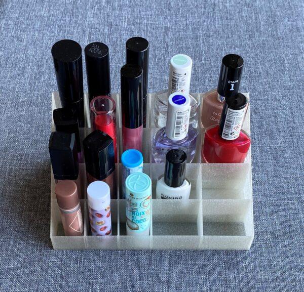Support cosmétique mixte 20 cases